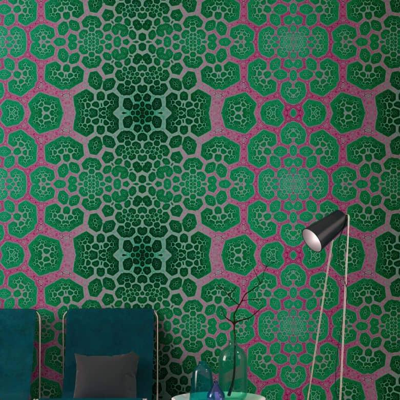 Livingwalls Fototapete Walls by Patel fractal 3