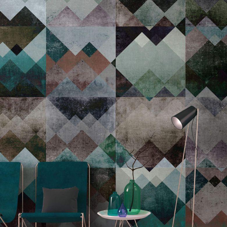 Livingwalls papier peint photo Walls by Patel zigzag 1