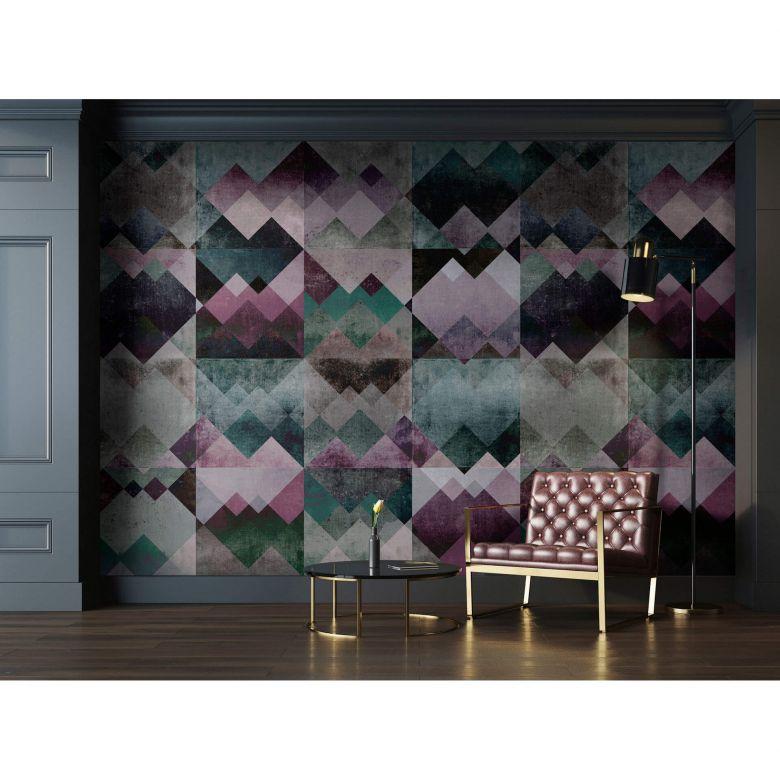 Livingwalls papier peint photo Walls by Patel zigzag 2