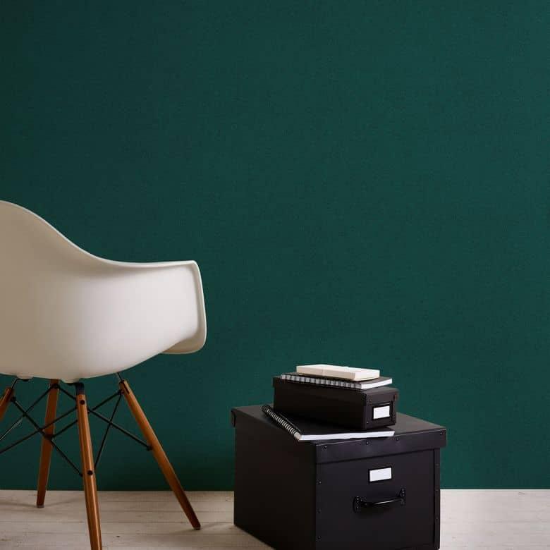 A.S. Création Vliestapete New Elegance Unitapete einfarbig, grün