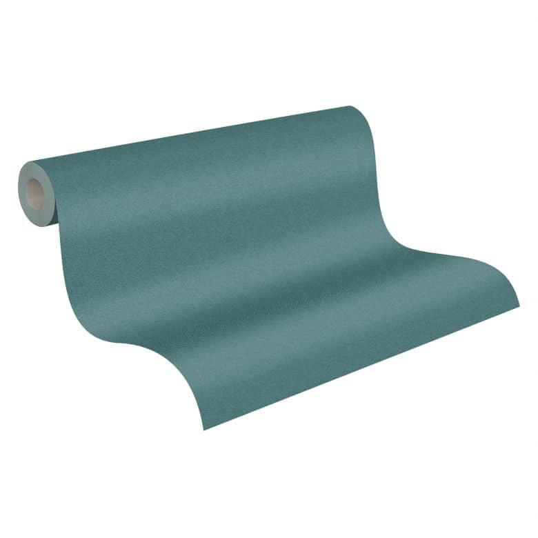 A.S. Création Vliestapete New Elegance Unitapete einfarbig, grün, blau