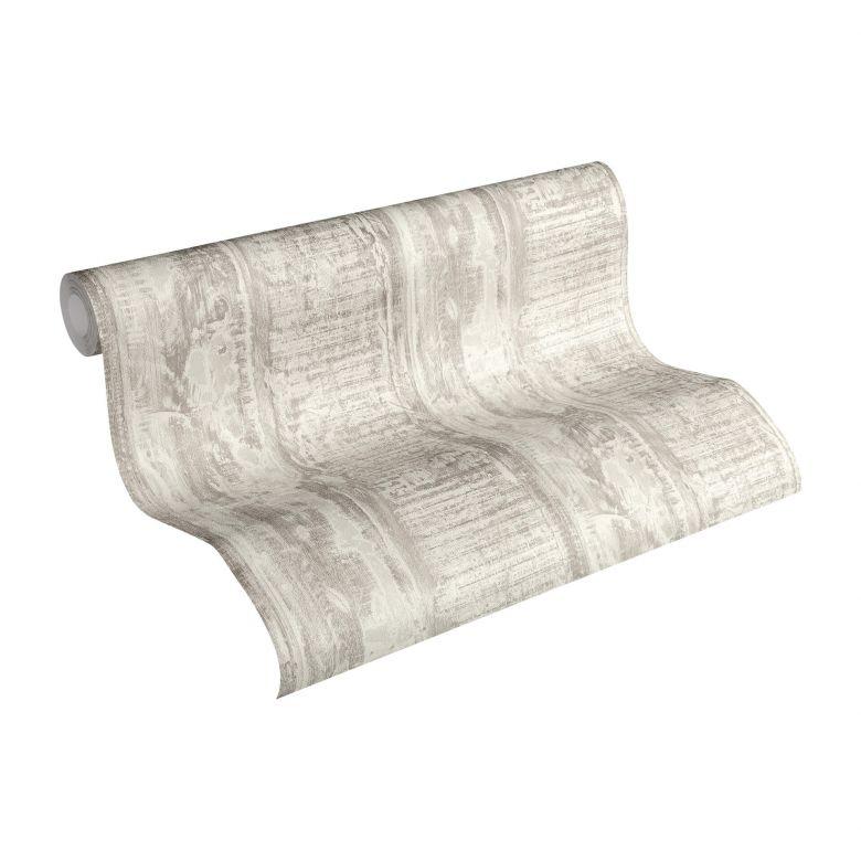 A.S. Création Best of Wood`n Stone 2nd Edition Papier peint effet bois - Crème