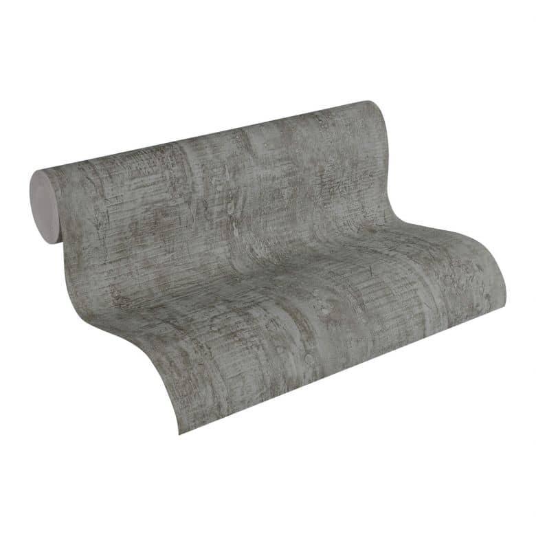 A.S. Création Vliestapete Wood and Stone Tapete in Betonoptik braun, grau