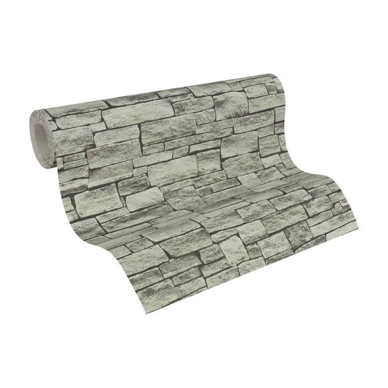 A.S. Création Tapete Best of Wood`n Stone 2nd Edition beige, grau, schwarz