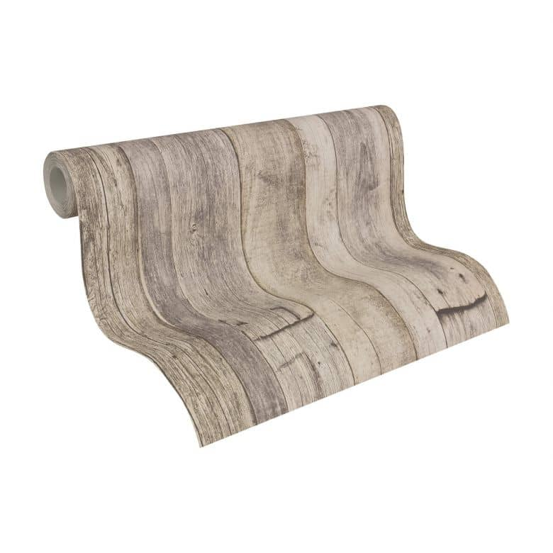 A.S. Création Tapete Best of Wood`n Stone 2nd Edition beige, creme, schwarz