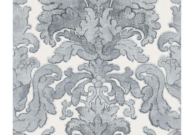 A s cr ation bohemian burlesque colore azzurro grigio for Carta da parati bohemian