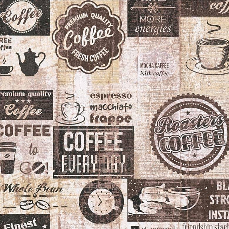 A.S. Création Vliesbehang il Decoro Behang Koffie