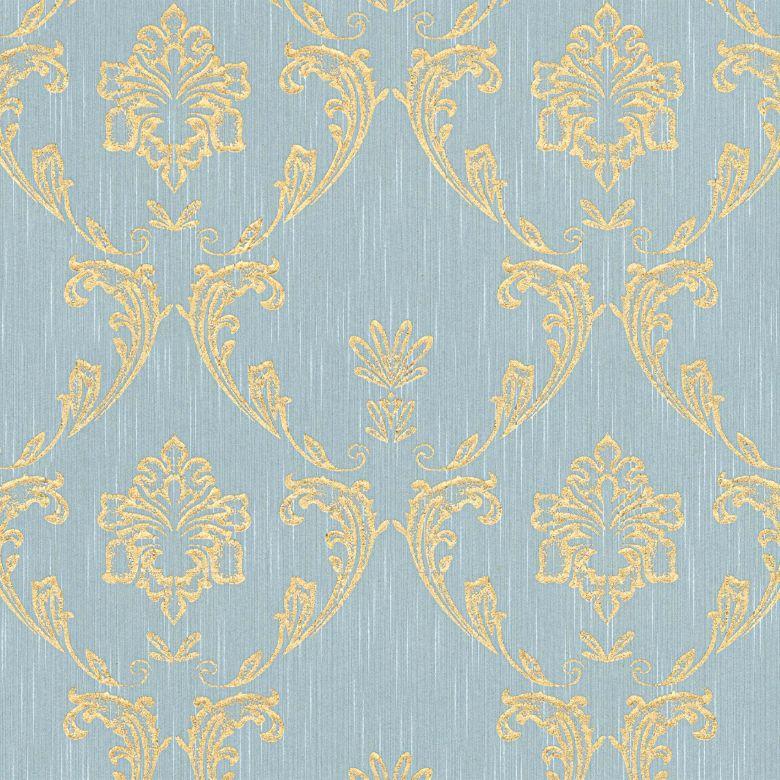 Architects Paper Textiltapete Metallic Silk blau, grün, metallic