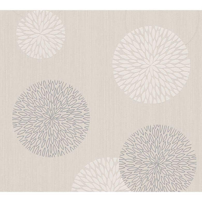 A.S. Création Wallpaper Best of Vlies 2016 Beige, Cream, Metallic