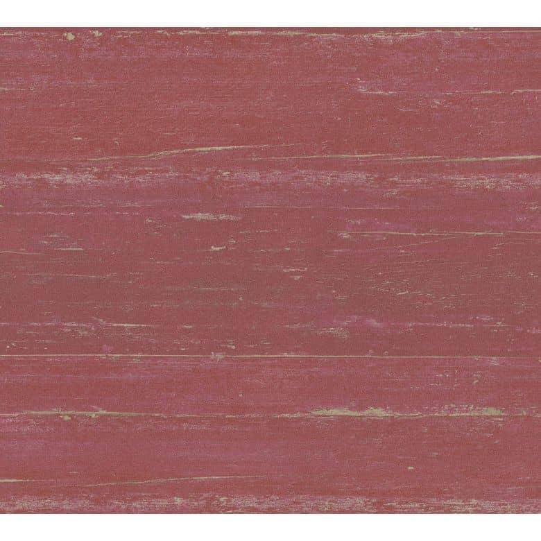A.S. Création California Papier peint intissé effet bois rouge