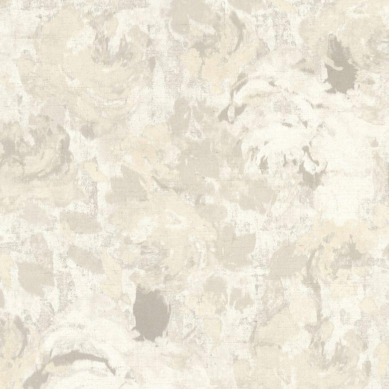 A.S. Création Vliestapete Character Tapete mit Rosen floral creme, grau, weiß
