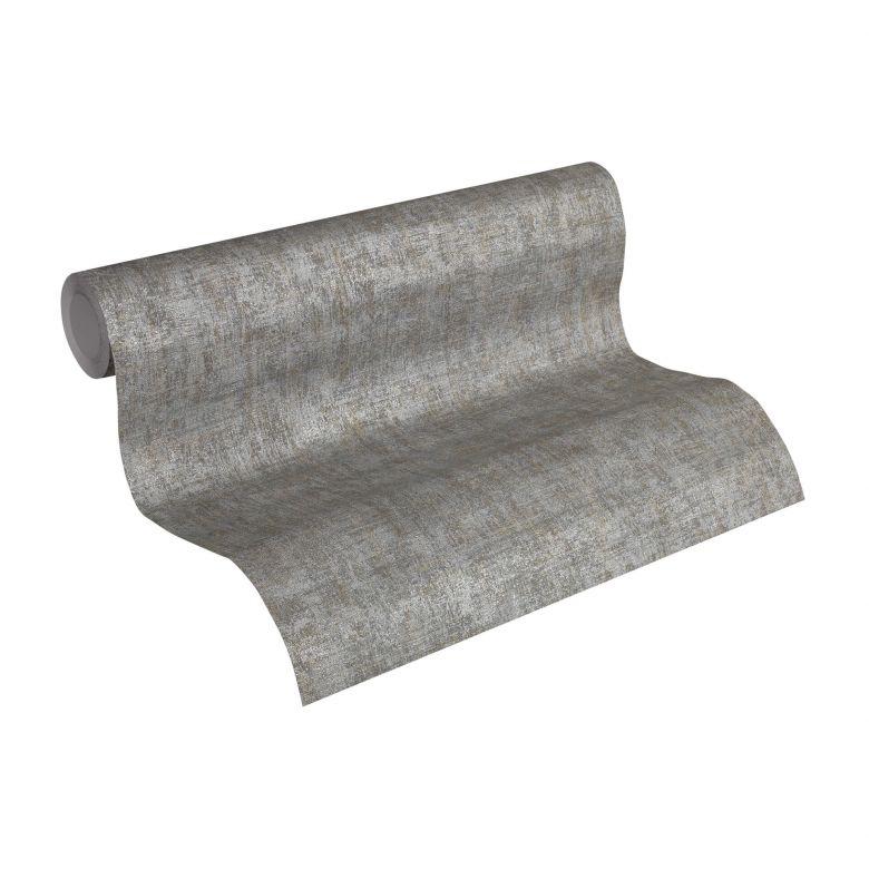 A.S. Création non-woven wallpaper Borneo grey, metallic