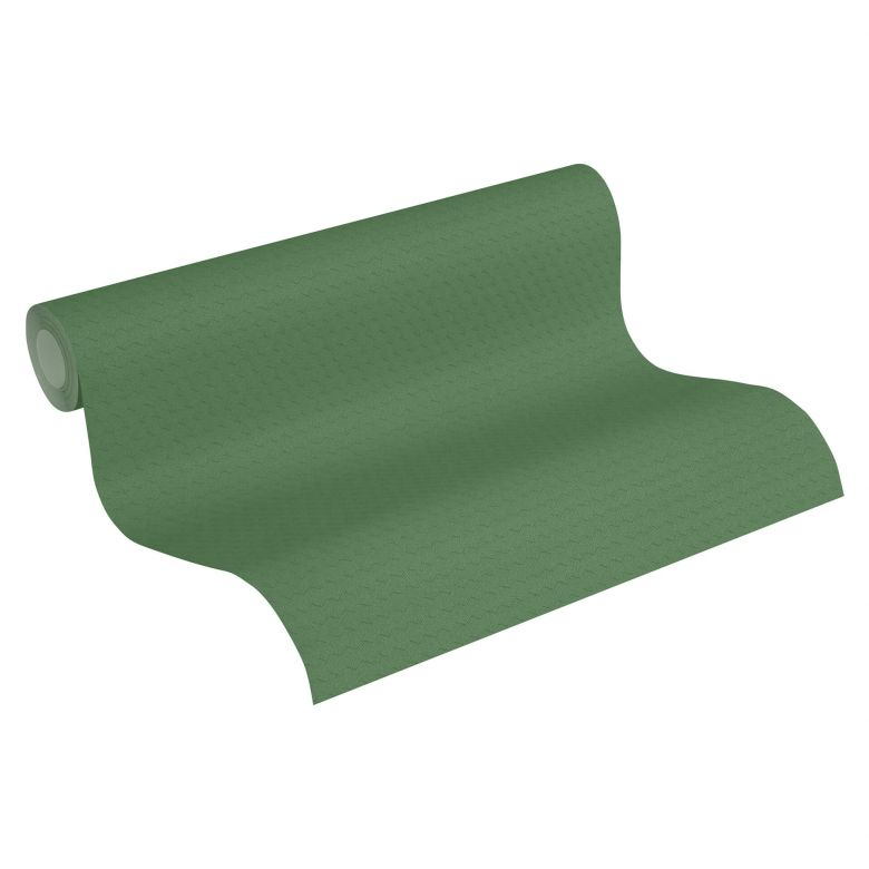 A.S. Création Vliestapete Greenery Unitapete geometrisch grün