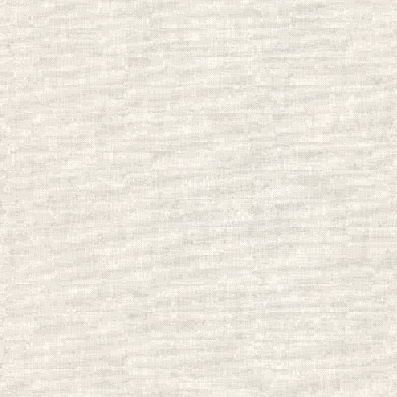 A.S. Création Vliestapete Linen Style Tapete Uni weiß