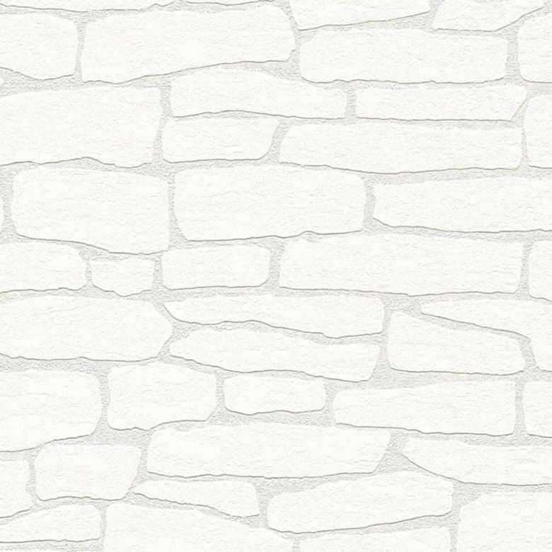 Carta da parati in TNT verniciabile Meistervlies 2020 - bianco