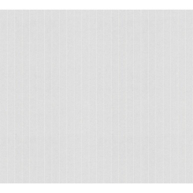 A.S. Création Vliestapete Meistervlies Streifentapete überstreichbar weiß