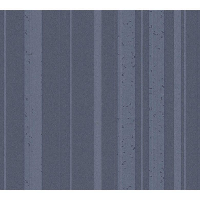 A.S. Création Vliestapete New Look blau, grau, metallic