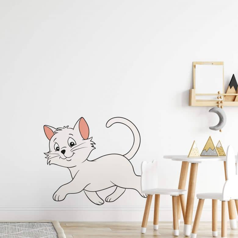 Bibi Blocksberg - Manias The Cat (03) Wall Sticker