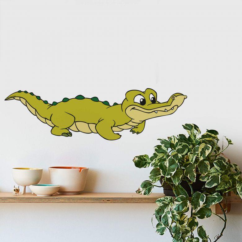 Wandtattoo Benjamin Blümchen Krokodil Koko