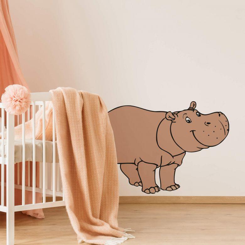 Muursticker Benjamin Nijlpaard Nino