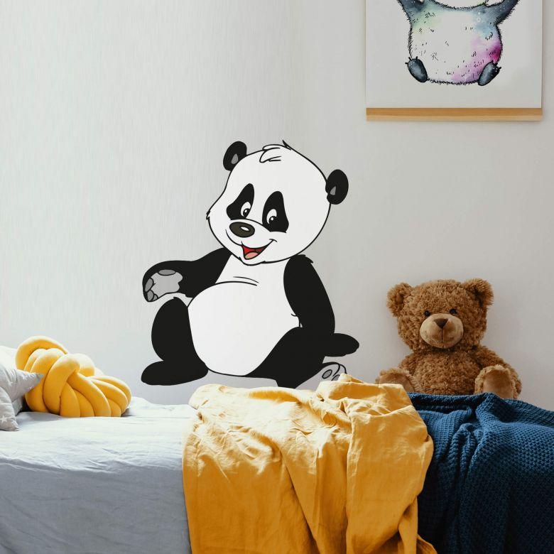 Muursticker Benjamin Panda Baby