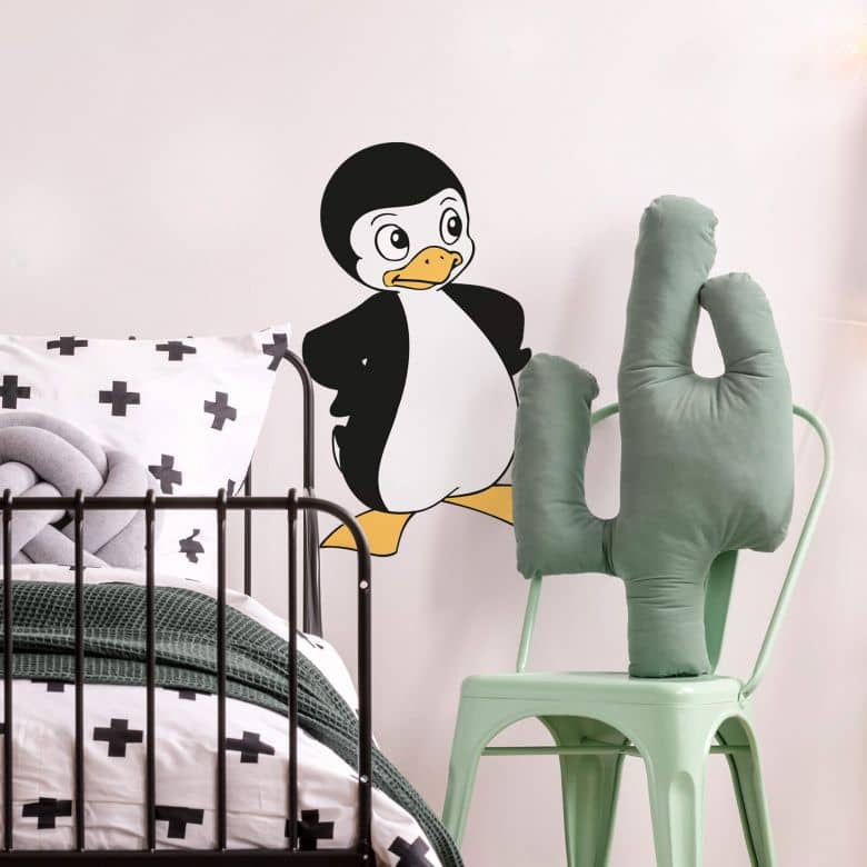 Muursticker Pinguin Paul