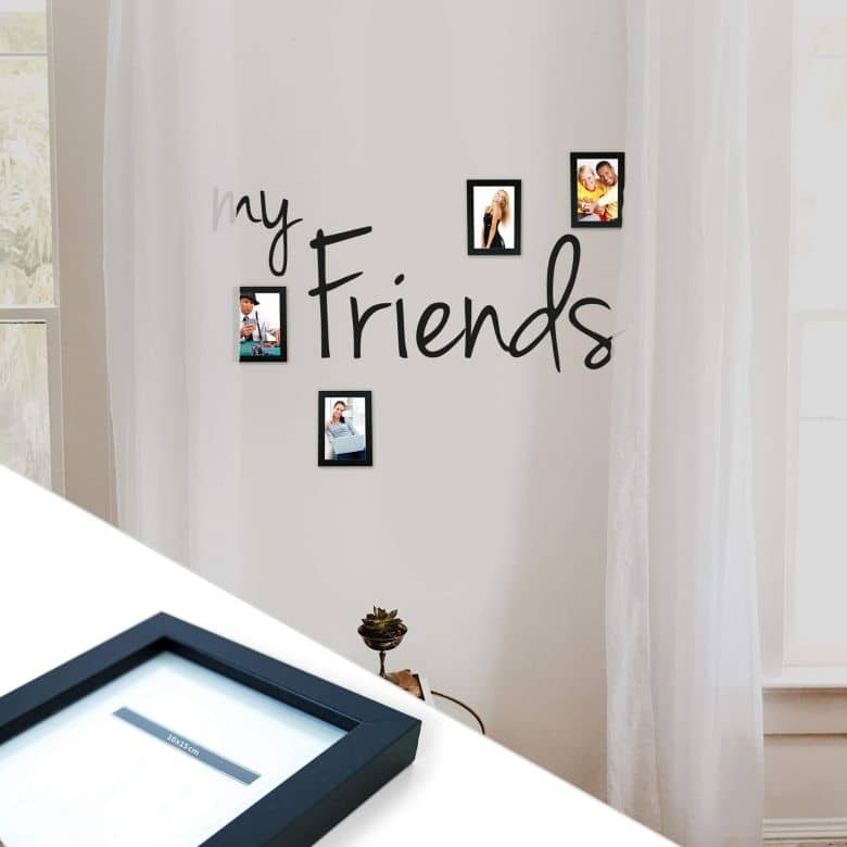 My Friends incl. 4 Photo Frames Wall sticker