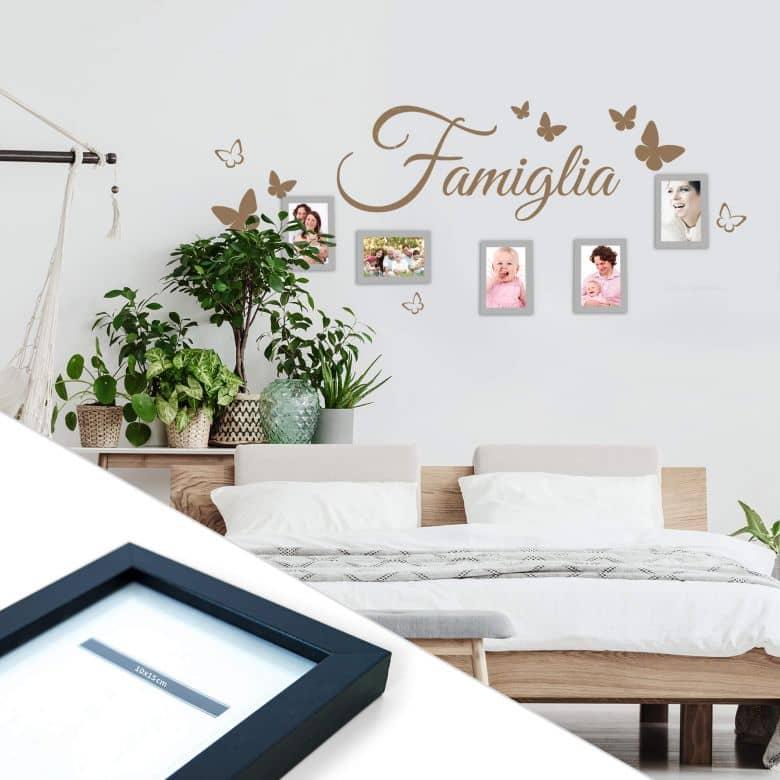 Famiglia incl. 5 cornici