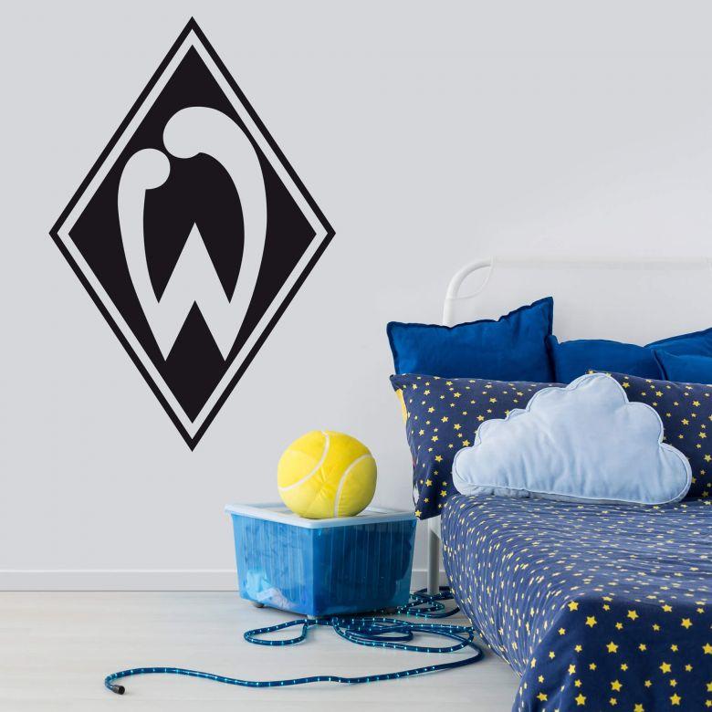 Wandtattoo Werder Bremen Logo einfarbig