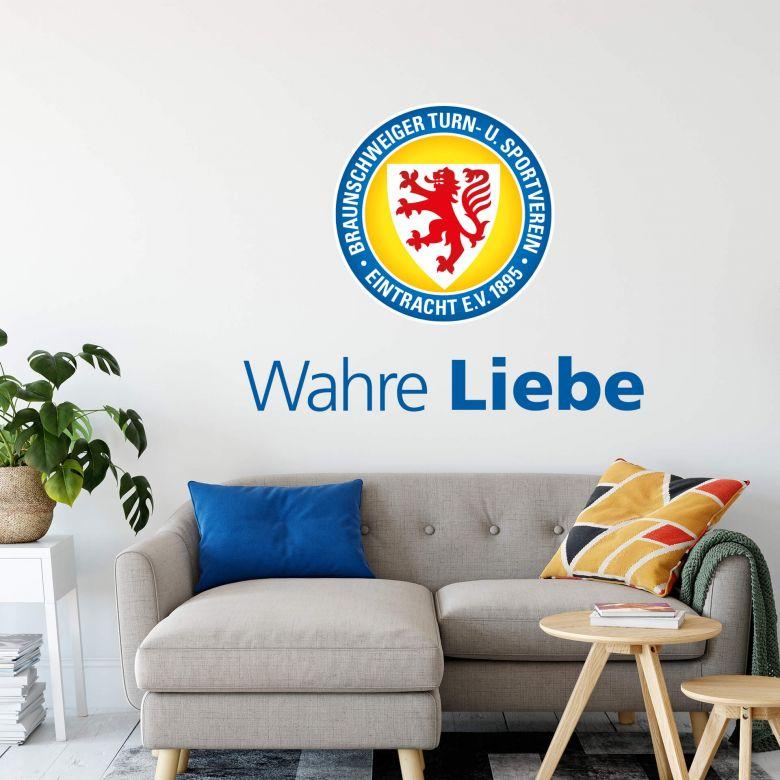 Wandtattoo Eintracht Braunschweig Wahre Liebe
