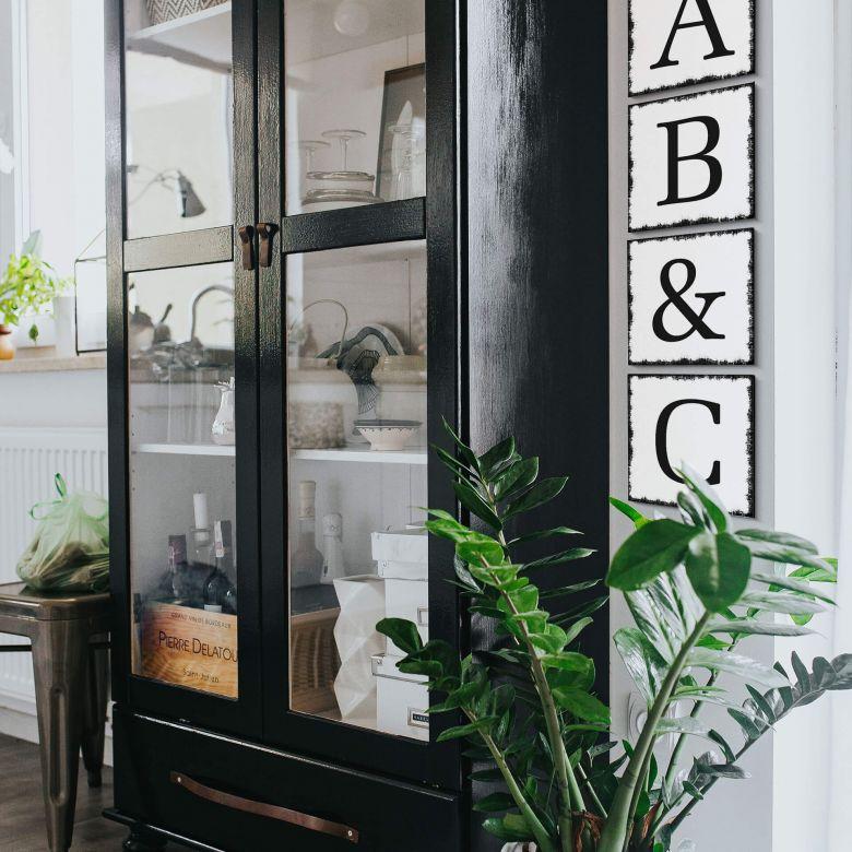 Alu-Dibond Decorative Letters - Shabby