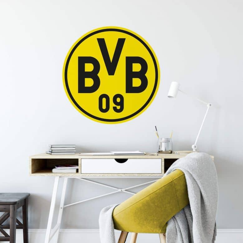 Wall Sticker Borussia Dortmund Logo Wall Art Com