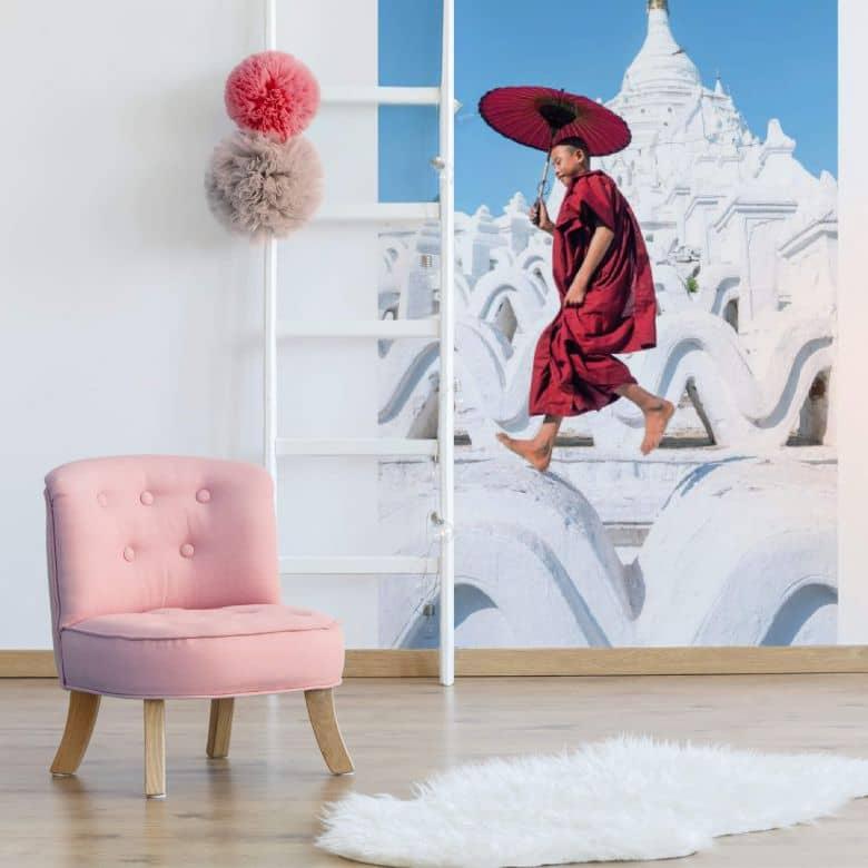 Fototapete Colombo - Der tanzende Mönch - 144x260 cm