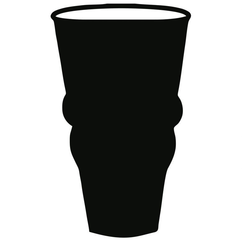 Wandtattoo Vase 4