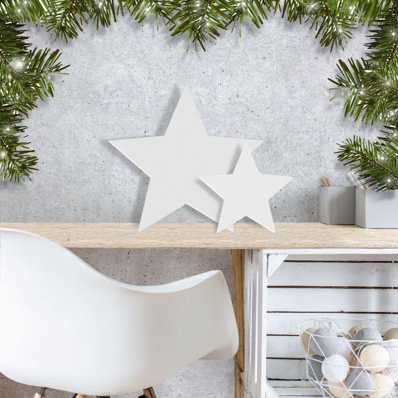 3d dekoration sterne 3d buchstaben f r wohnzimmer schlafzimmer und flur wall. Black Bedroom Furniture Sets. Home Design Ideas