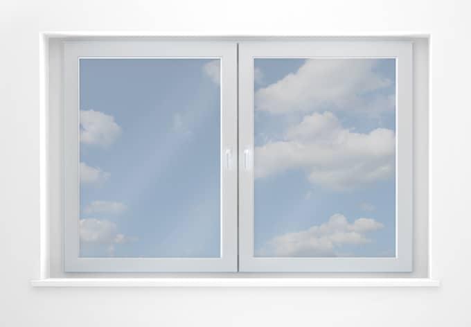 Fensterfolie Sonnenschutzfolie transparent - selbstklebend 200 x 75 cm