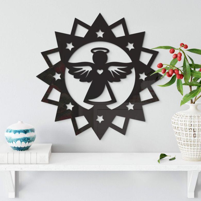 Angel in a star – Acrylic Glass