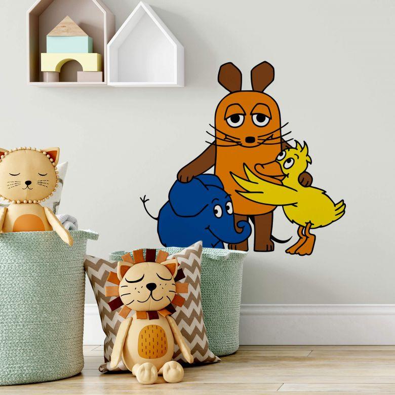 Wandtattoo Die Maus Familienporträt