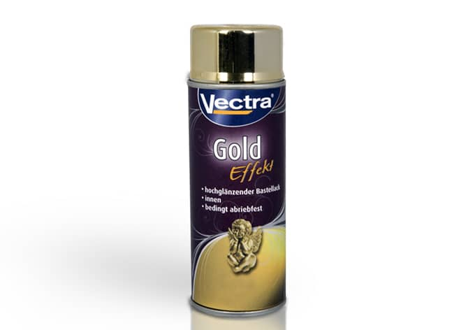 Spray Can Paint Gold Effect 400 ml