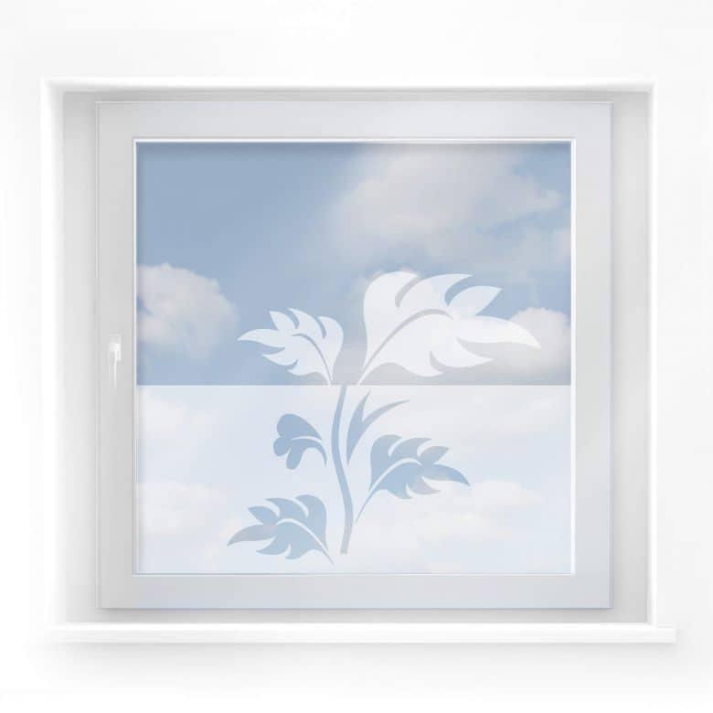 Fensterdekor Farn