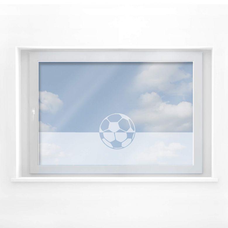 Fensterdekor Fussball