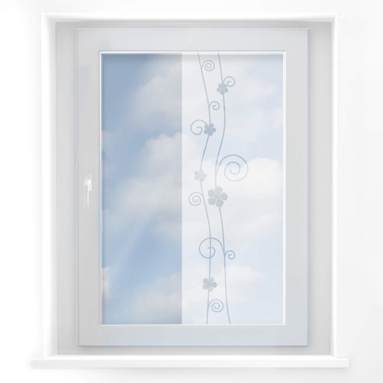 Fensterdekor Blütenzauber