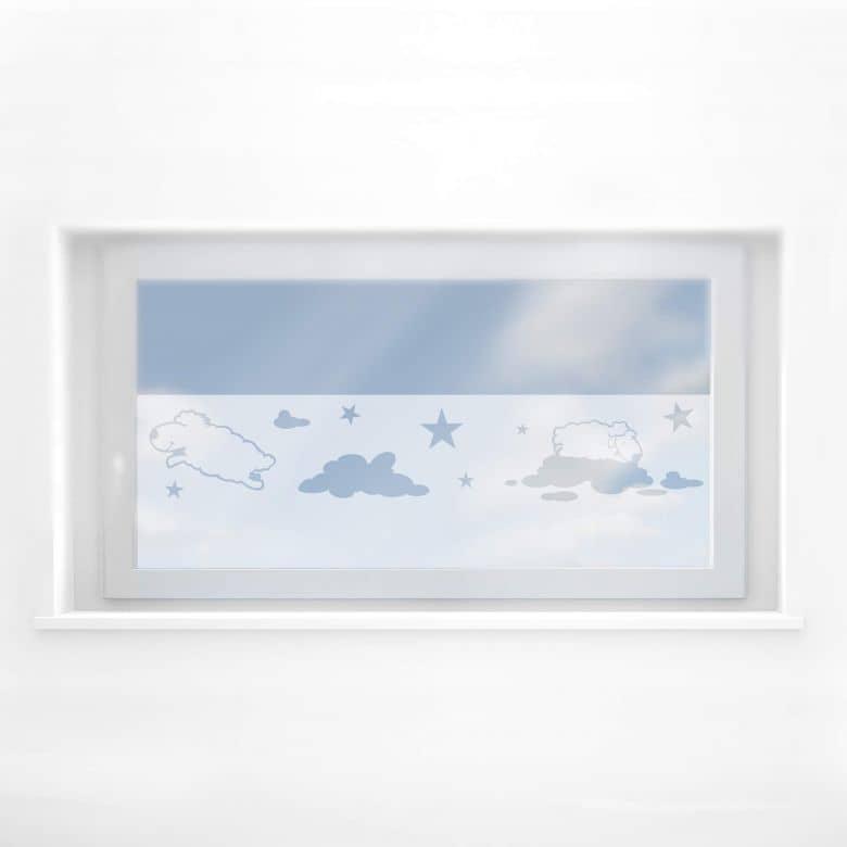 Fensterdekor Schäfchen