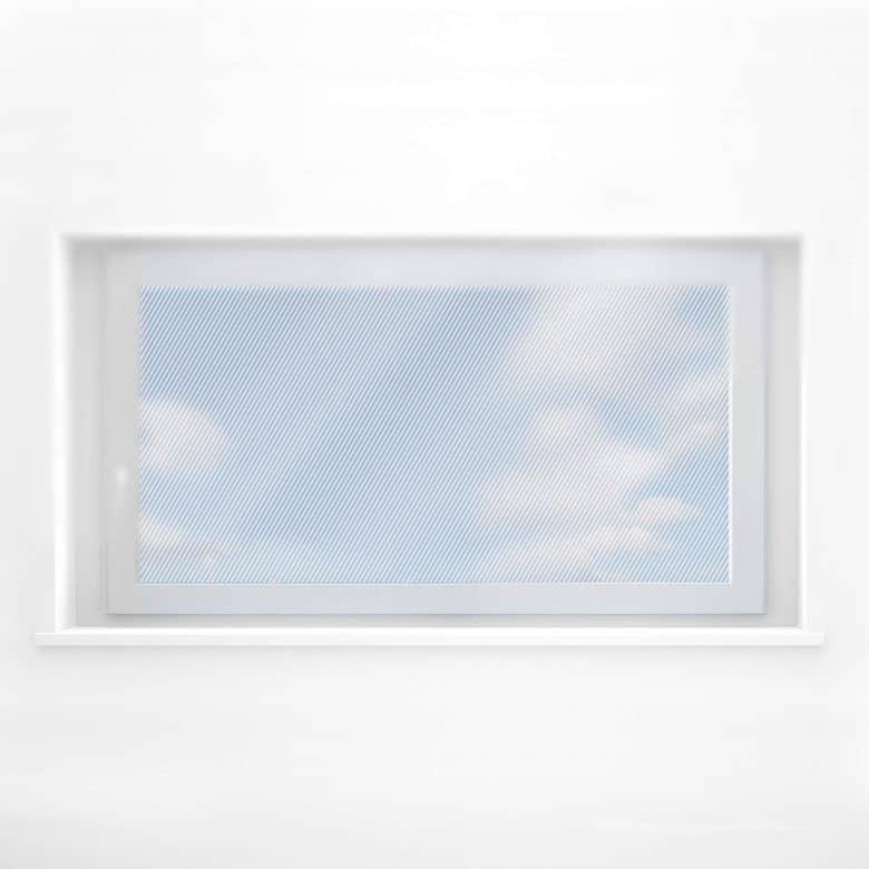 Fensterdekor - Diagonalen Panorama