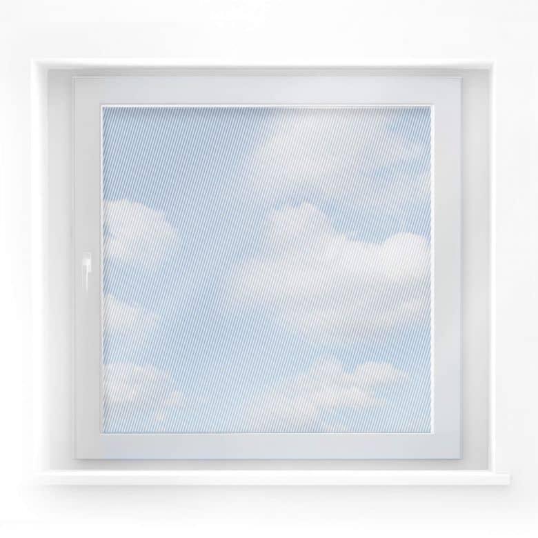 Fensterdekor Diagonalen (quadratisch)