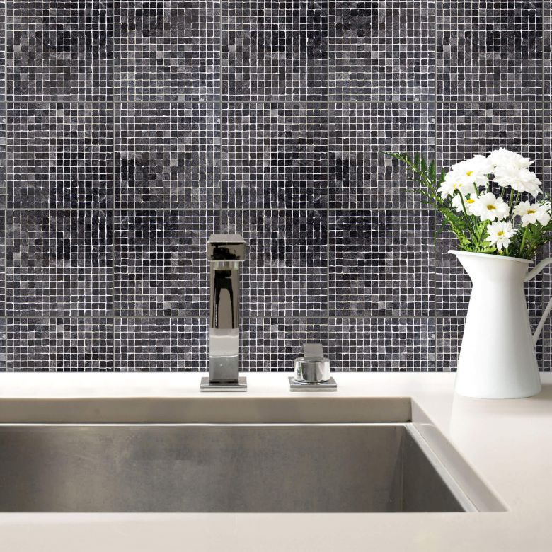 Fliesenaufkleber mosaik 03 wall for Fliesenfolie mosaik