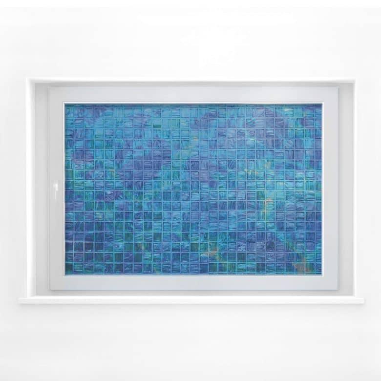 Fensterbild Glasmosaik
