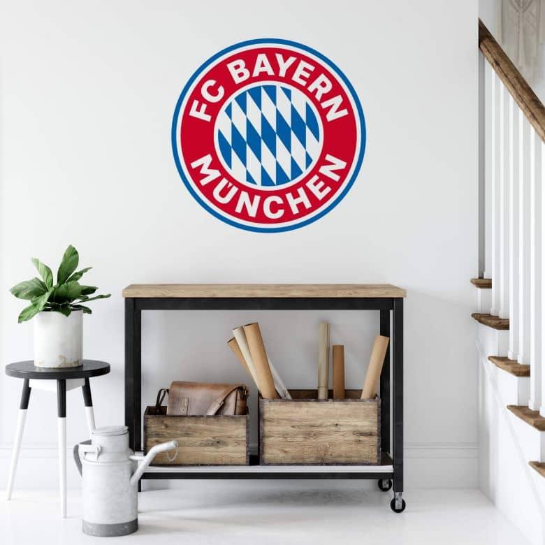 Wall sticker Bayern Munich - Logo without stars