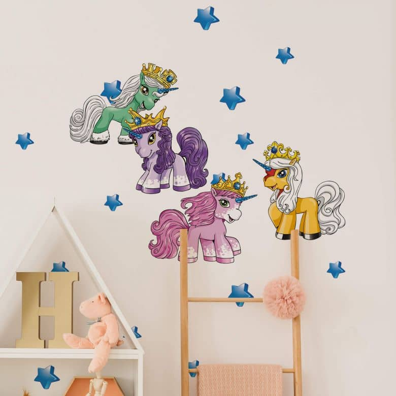 Muursticker Filly Unicorn - Dreams Set