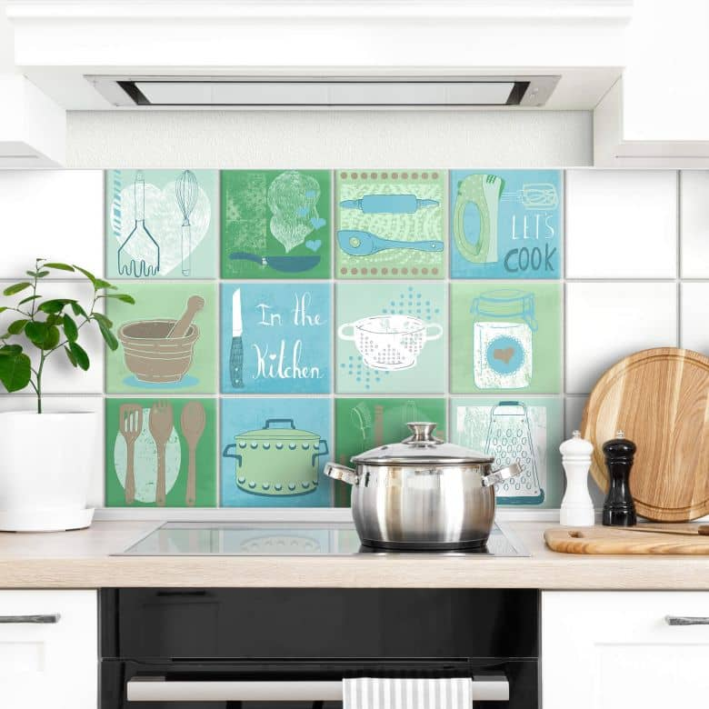 Tile stickers Loske – In the kitchen